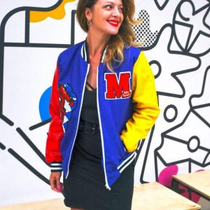 Piękna kurtka w nasyconych kolorach - Kurtka Crazy Betty