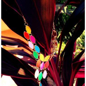 Naszyjnik Karen kolorowy