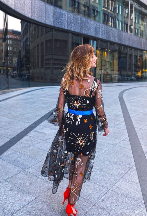 Magiczna sukienka w jednorożce