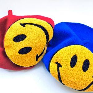Beret uśmiech czerwony