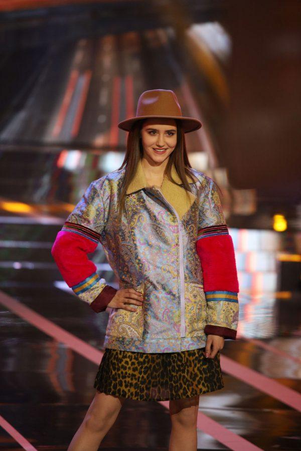 Kurtka Gypsy we wzór paisley