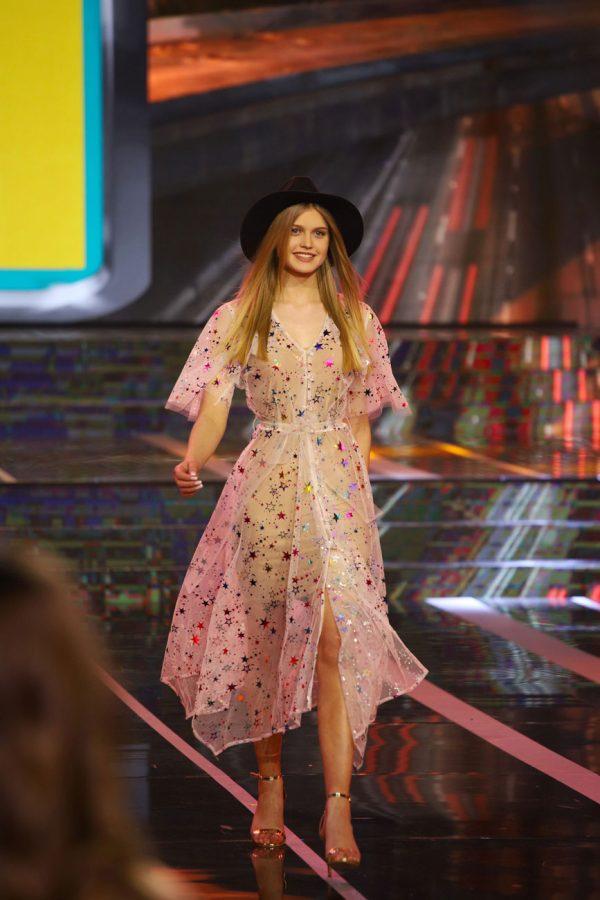 Sukienka Gwiazdy Kolorowe