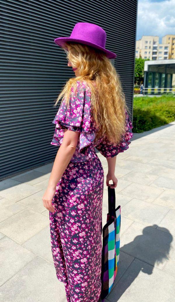 Sukienka Łąka Fuksji