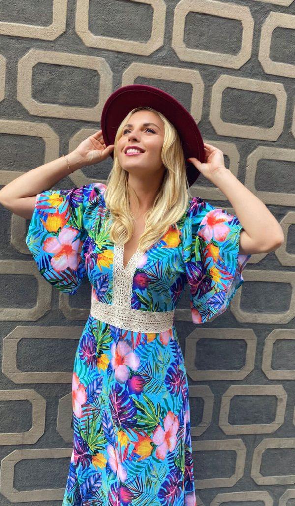 Sukienka Tropikalna