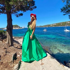 Sukienka Szmaragdowa
